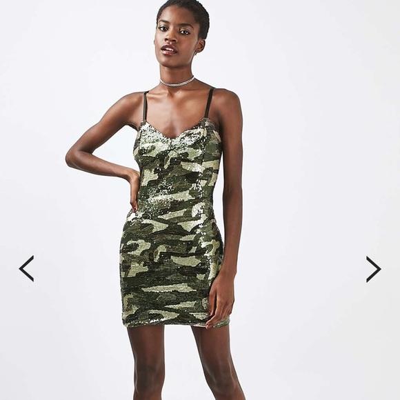 4e3f4eb3 Topshop Camo Sequin Dress. M_5b25a73efe5151d1bb4b2ef4